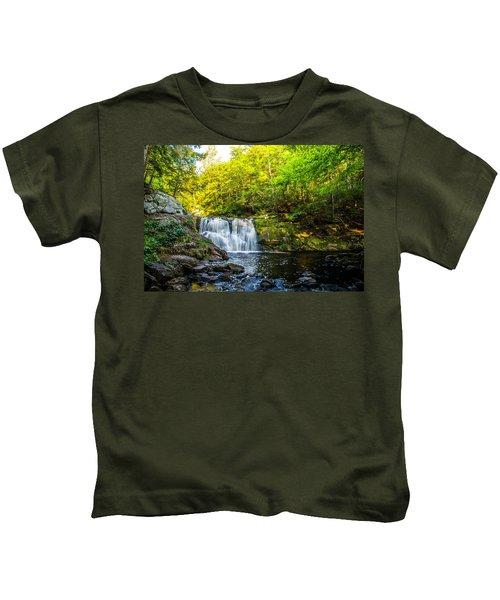 Doans Falls Lower Falls Kids T-Shirt