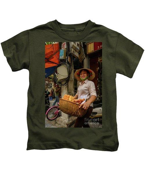 Donut Seller Kids T-Shirt