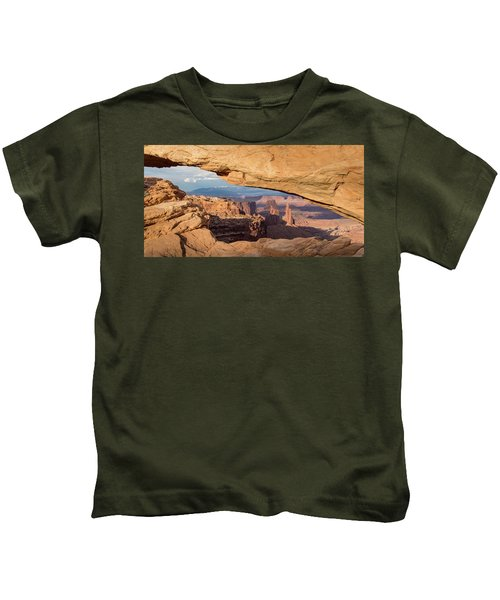 Door To The West Kids T-Shirt
