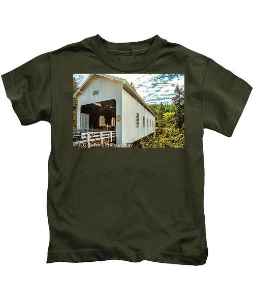 Dorena Covered Bridge Kids T-Shirt