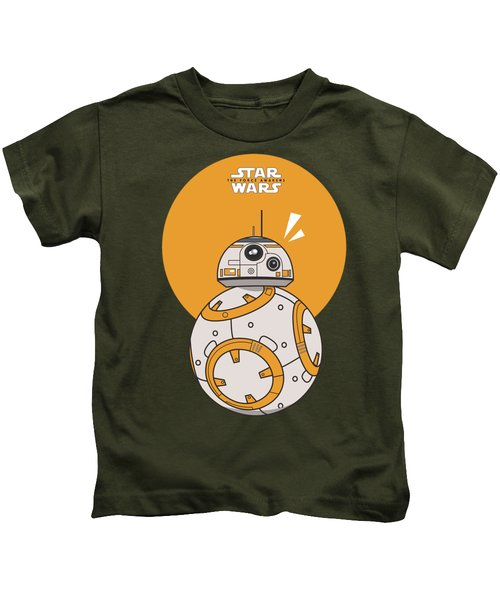 Dotted Starwars Kids T-Shirt by Mentari Surya