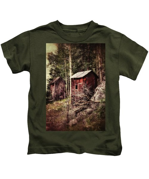 Double Duty, St. Elmo Outhouses Kids T-Shirt