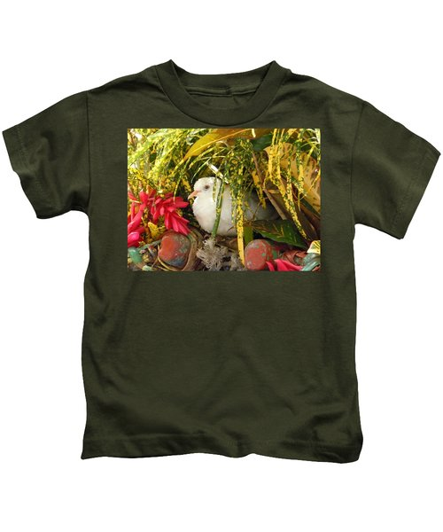 Dove In Jamaica Kids T-Shirt