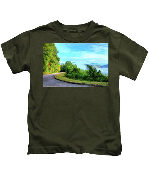 Down The Mountain Kids T-Shirt