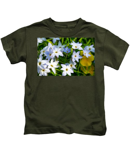 Downtown Wildflowers Kids T-Shirt