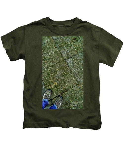 Downward Views #001 Kids T-Shirt