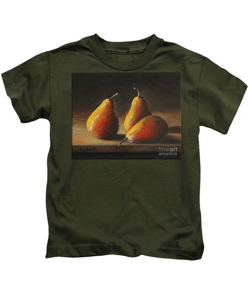 Dramatic Pears Kids T-Shirt