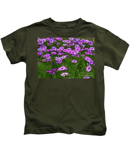 Dreaming Of Purple Daisies  Kids T-Shirt