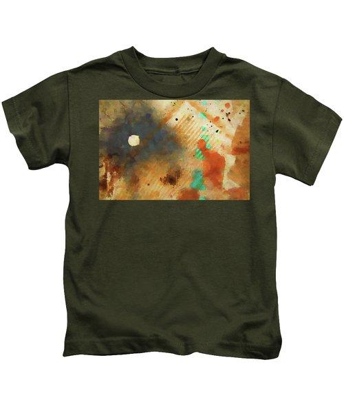 Dropcloth Moon Kids T-Shirt