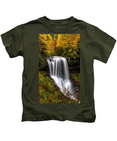 Dry Falls In October  Kids T-Shirt