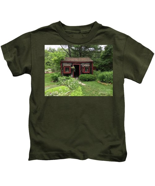 Drying Shed For Herbs Kids T-Shirt