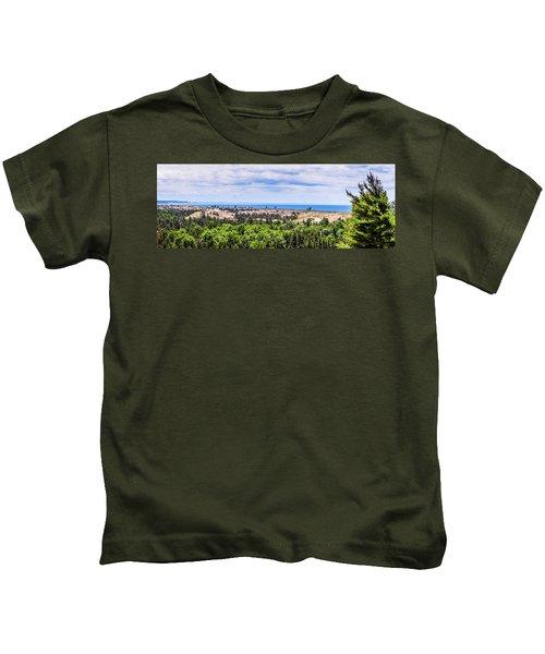 Dunes Along Lake Michigan Kids T-Shirt