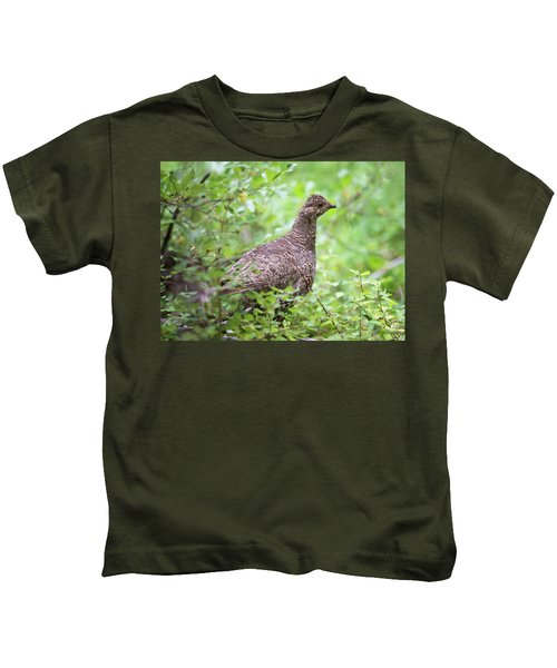 Dusky Grouse Kids T-Shirt