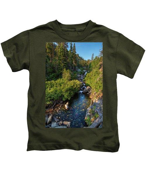 Eagle Falls - 1 Kids T-Shirt