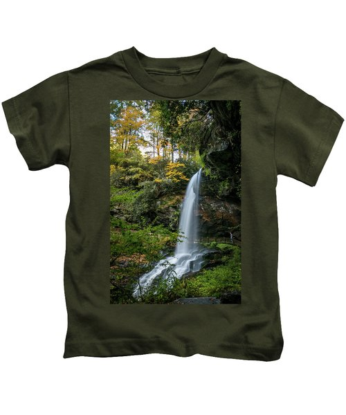 Early Autumn At Dry Falls Kids T-Shirt