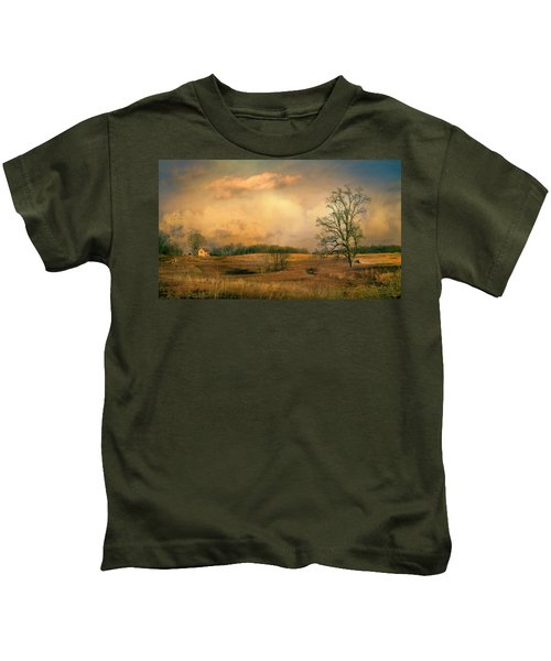 Early Spring Storm Kids T-Shirt