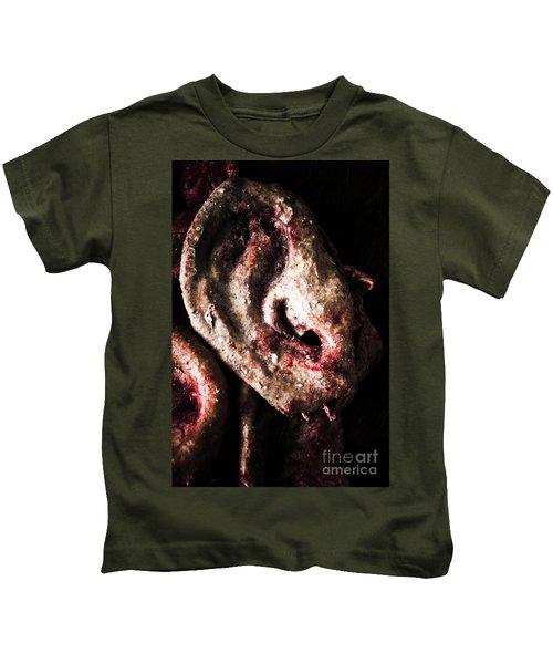 Ears And Meat Hooks  Kids T-Shirt