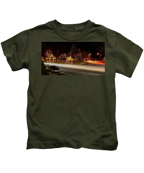 Easthampton Light Trails Kids T-Shirt