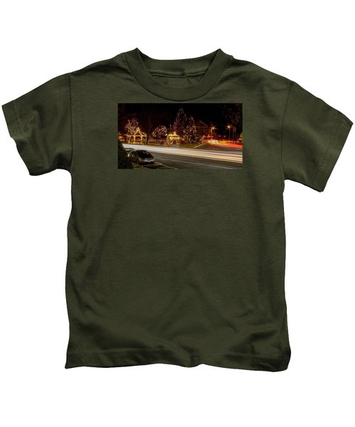Easthampton Light Trails Kids T-Shirt