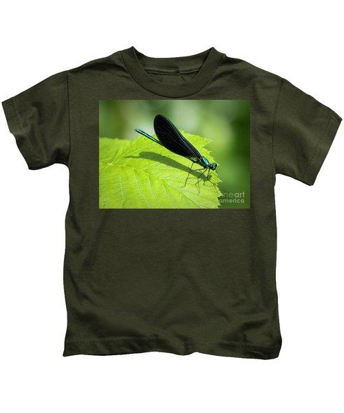 Ebony Jewelwing Kids T-Shirt