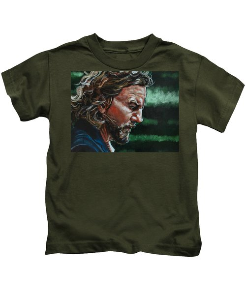 Eddie Vedder Kids T-Shirt
