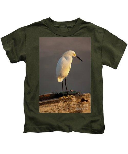 Egret Glow Kids T-Shirt