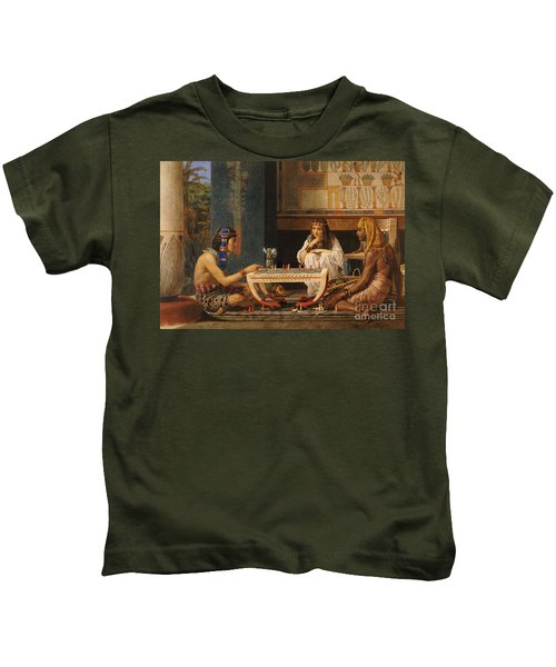 Egyptian Chess Players Kids T-Shirt