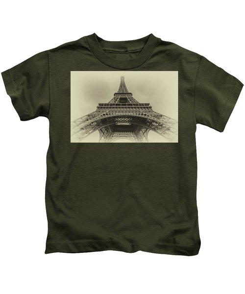 Eiffel Tower 2 Kids T-Shirt