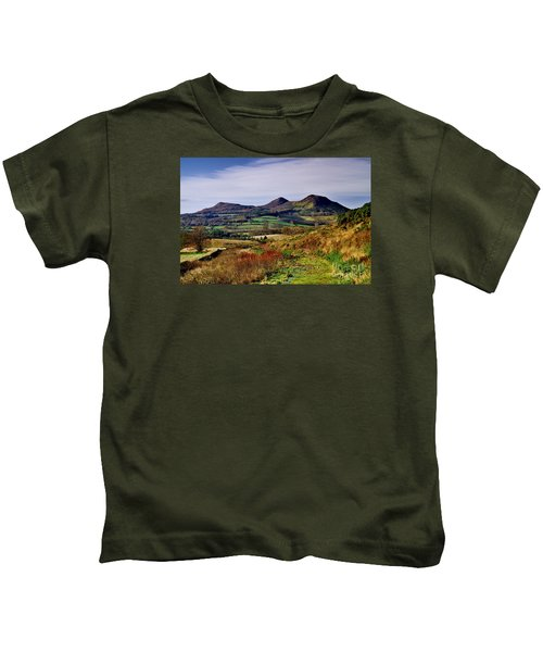 Eildon Hills Borders Scotland Kids T-Shirt