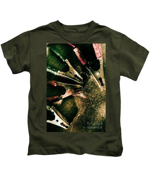 Electrical Workshop Leads Kids T-Shirt