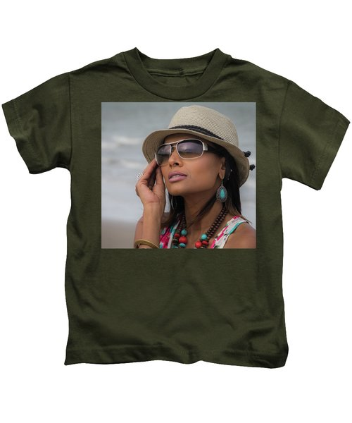 Elegant Beach Fashion Kids T-Shirt