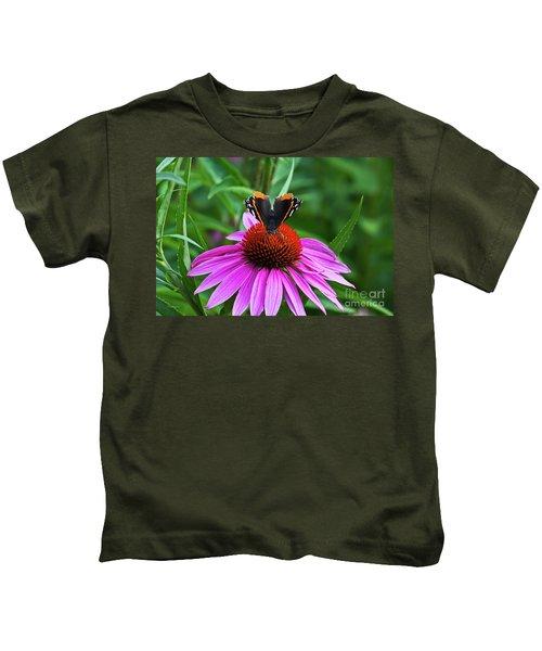 Elegant Butterfly Kids T-Shirt
