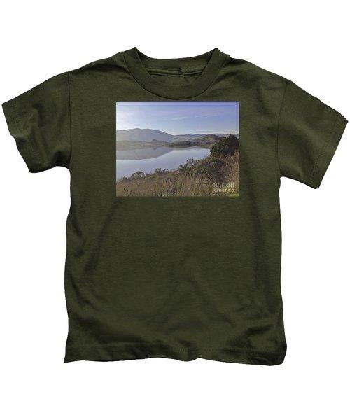 Elephant Hill In Mist Kids T-Shirt