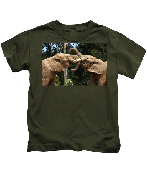 Elephant Play Kids T-Shirt
