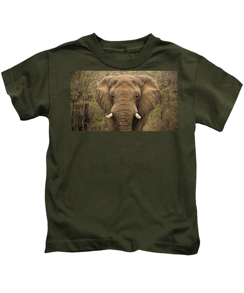 Elephant Watching Kids T-Shirt