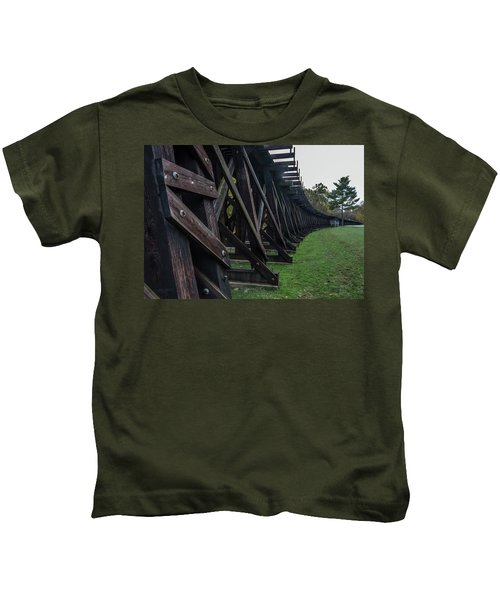 Harpers Ferry Elevated Railroad Kids T-Shirt