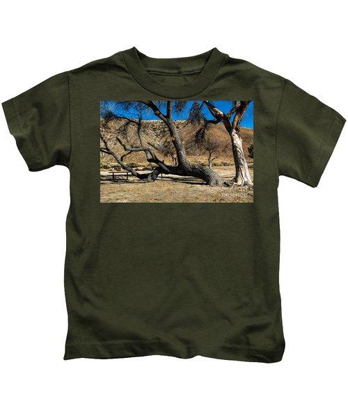 Elizabeth Lake Tree Kids T-Shirt