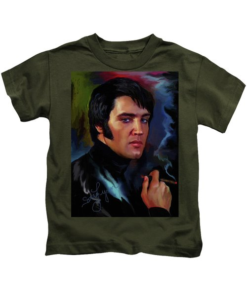 Elvis Presley Art 4 Kids T-Shirt