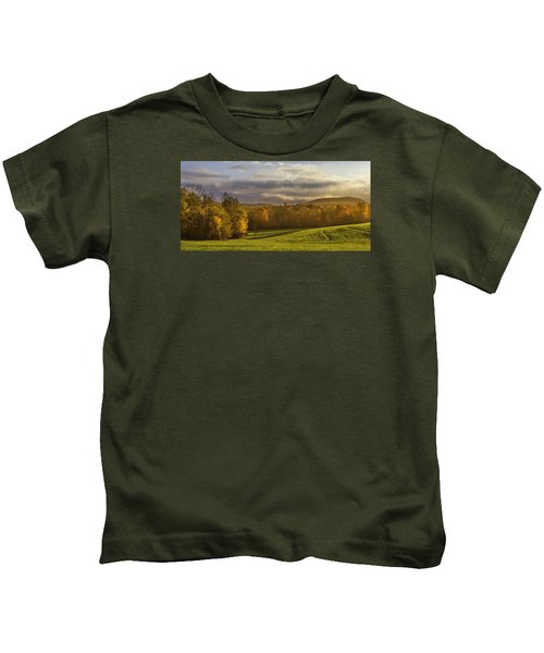 Empty Pasture - Cows Needed Kids T-Shirt