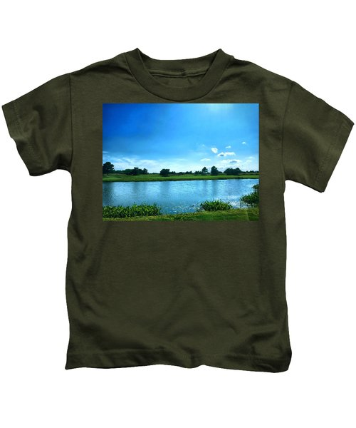 Kids T-Shirt featuring the photograph Endless Summer by Chris Montcalmo