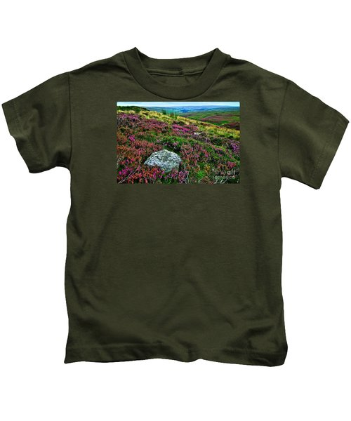 English Moorland Heather Kids T-Shirt