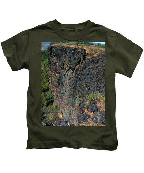 Erosion Of Flow Kids T-Shirt