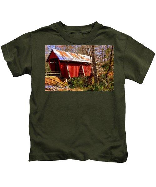 Est. 1909 Campbell's Covered Bridge Kids T-Shirt