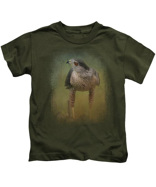 Evening Hawk Kids T-Shirt