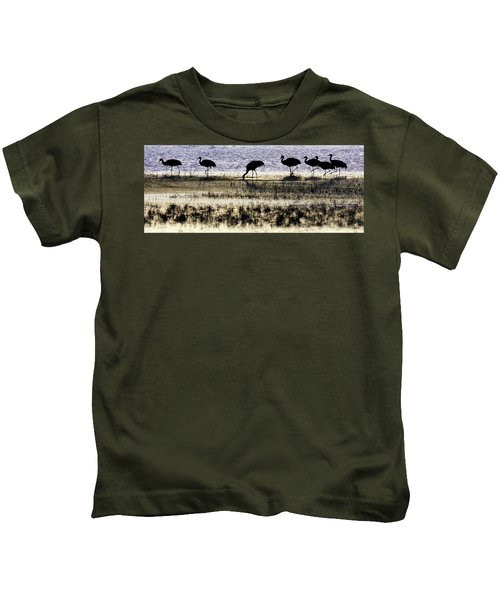 Evening Silhouette Kids T-Shirt