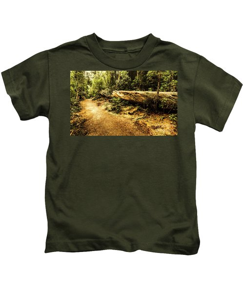 Evergreen Jungle Trails Kids T-Shirt
