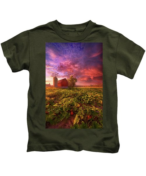 Every Dark Night Turns Into Day Kids T-Shirt