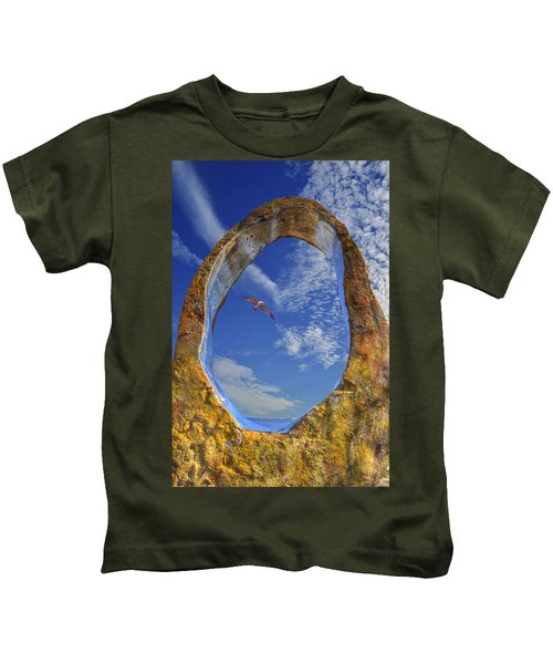 Eye Of Odin Kids T-Shirt