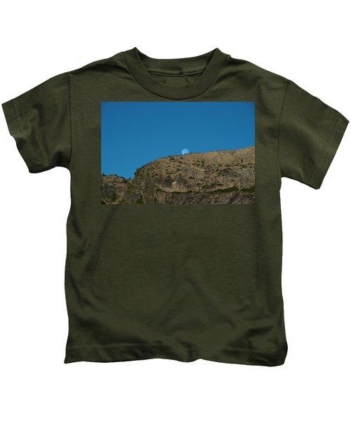 Eye Of The Mountain Kids T-Shirt