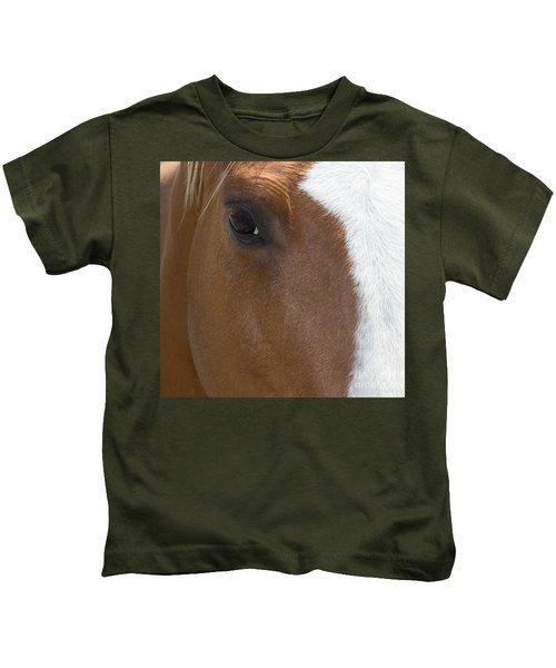 Eye On You Horse Kids T-Shirt